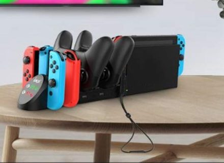 任天堂switch 互換充電スタンドが便利すぎる件