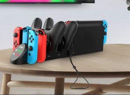 任天堂switch 互換充電スタンドが便利すぎる件